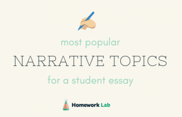 narrative essay topics for students