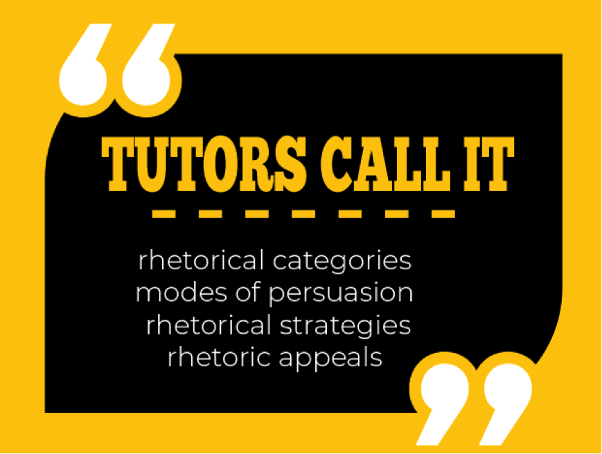 three categories of rhetoric devices