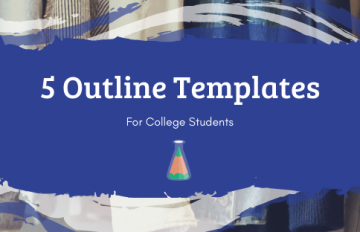 College Research Essay Outline Template Paper Example Apa