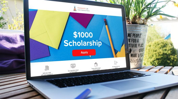 homework lab scholarship