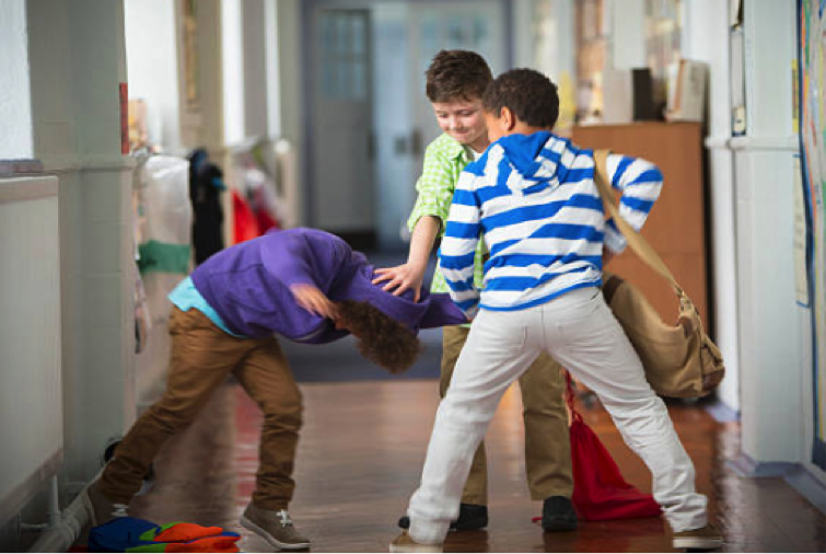 A good essay introduction can start with a vivid illustration, such as school bullying
