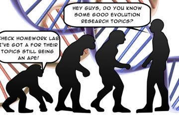 evolution research paper topics