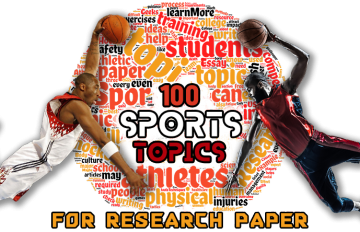 sports research paper topics