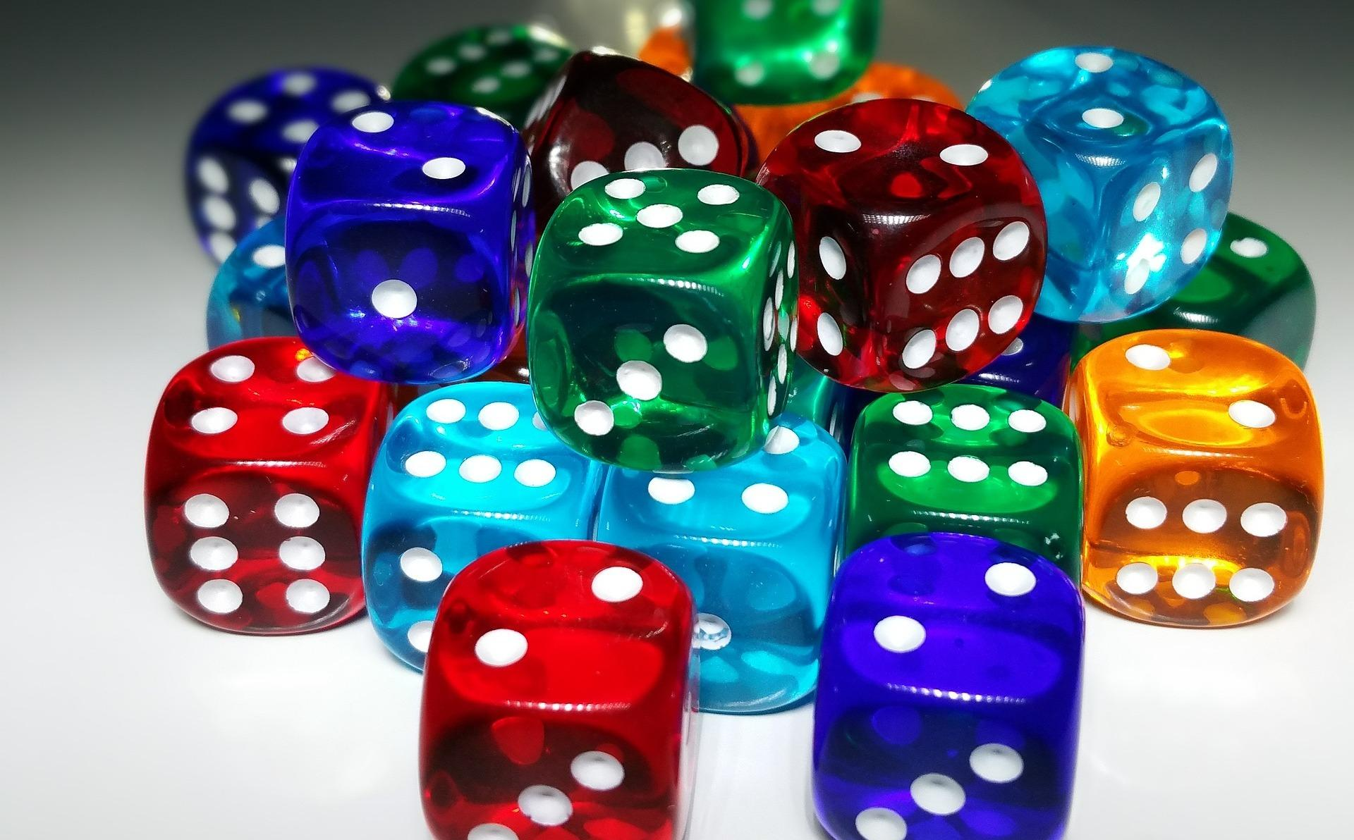 Sample in quantitative research - it is random like a pile of dice